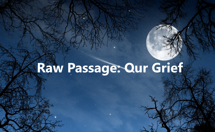 Raw Passage: OurGrief