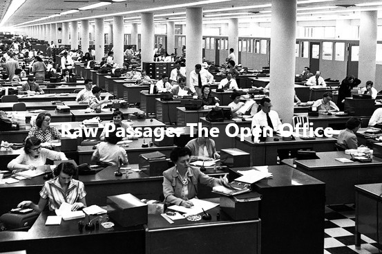 Raw Passage: The Open Office