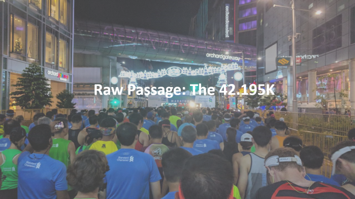 Raw Passage: The 42.195K